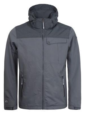 Куртка Icepeak. Цвет: бронзовый, серый