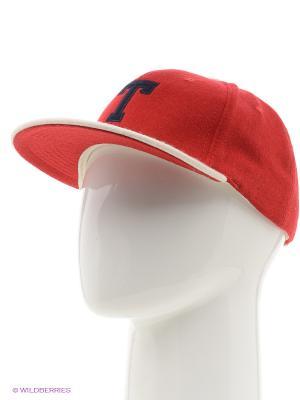 Бейсболка T Wool True Spin. Цвет: красный