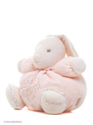 Заяц средний розовый, коллекция Жемчуг Kaloo. Цвет: розовый