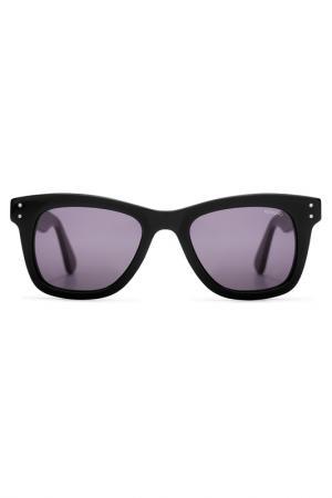 Солнцезащитные очки Komono. Цвет: черный