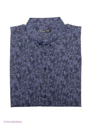 Рубашка IFC. Цвет: сиреневый