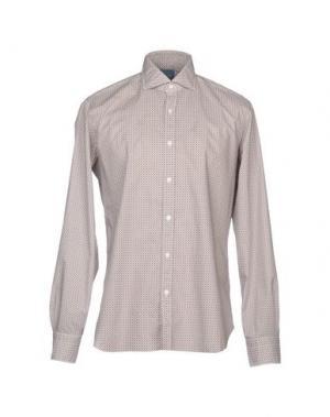 Pубашка DANDYLIFE by BARBA. Цвет: темно-коричневый