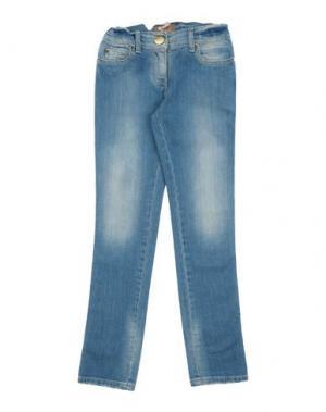 Джинсовые брюки MINIFIX. Цвет: синий
