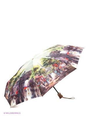 Зонт Zest. Цвет: зеленый, белый