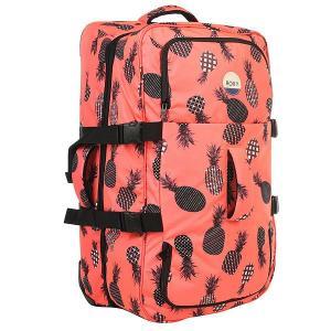 Сумка дорожная женская  In Clouds 85 L Ax Neon Grapefruit Roxy. Цвет: черный,оранжевый