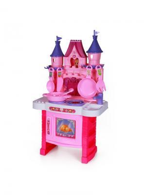 Игровой набор Дворцовая кухня YAKO. Цвет: розовый