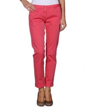 Повседневные брюки MONOCROM. Цвет: светло-фиолетовый