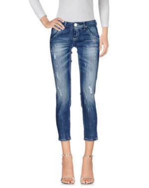 Джинсовые брюки FLY GIRL. Цвет: синий