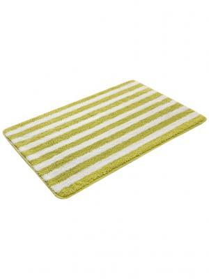 Коврик для ванной 50х80см bm-mf-d5/1-2 Cite Marilou. Цвет: желтый, белый