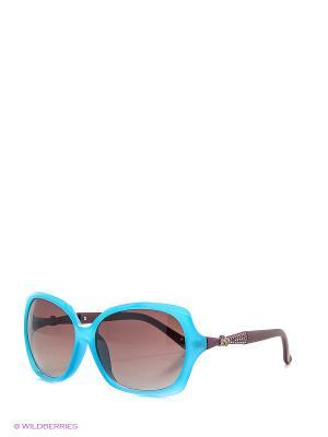 Солнцезащитные очки Vittorio Richi. Цвет: голубой, фиолетовый