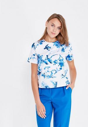 Блуза Clabin. Цвет: белый