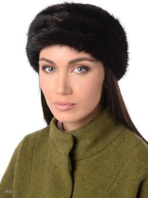 Повязка на голову Ваша Шляпка. Цвет: темно-коричневый