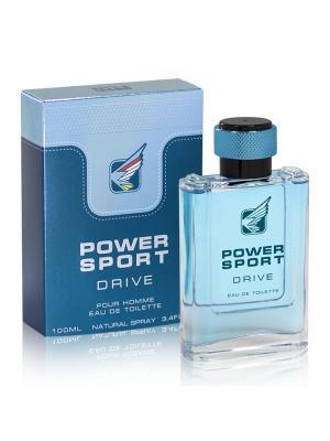 Туалетная вода Power Sport Drive 100 ml/м. Цвет: прозрачный