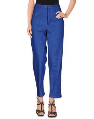 Джинсовые брюки LIBERTINE-LIBERTINE. Цвет: синий