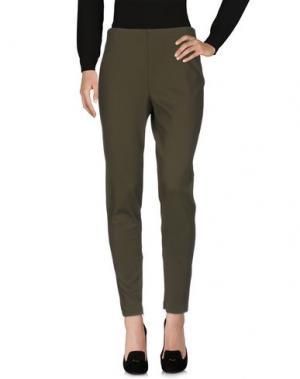 Повседневные брюки SEVERI DARLING. Цвет: зеленый-милитари