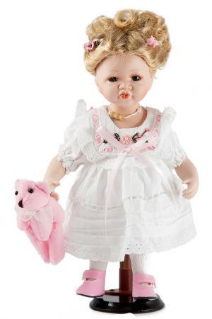 Кукла 32см Русские подарки. Цвет: белый, розовый
