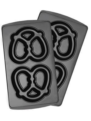 Панель для мультипекаря REDMOND RAMB-10 (крендель большой). Цвет: черный