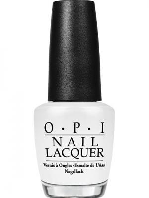 Opi Лак для ногтей ALPINE SNOW, 15 мл. Цвет: белый