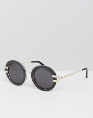 Somedays Круглые солнцезащитные очки Lovin. Цвет: черный