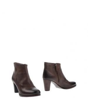 Полусапоги и высокие ботинки LABORATORIGARBO. Цвет: темно-коричневый