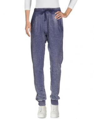 Повседневные брюки RA-RE. Цвет: грифельно-синий