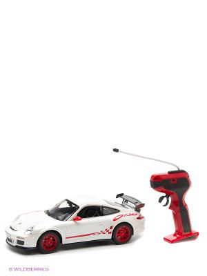 Машина р/у Porsche 911 GT3 RS с аккумулятором KAISER. Цвет: белый