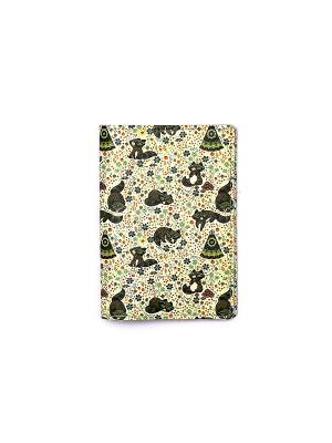 Обложки для паспорта  Енотики TonyFox. Цвет: коричневый, желтый, черный