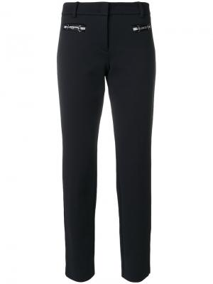 Renira piquée trousers Cambio. Цвет: чёрный