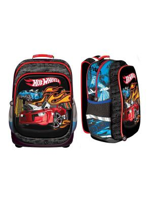Рюкзак Nice bag Hot Wheels Mattel. Цвет: черный