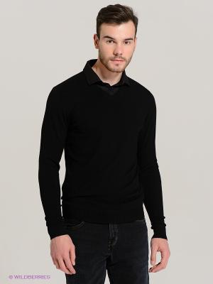 Пуловер Fresh. Цвет: черный