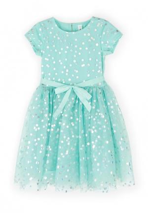 Платье Acoola. Цвет: бирюзовый