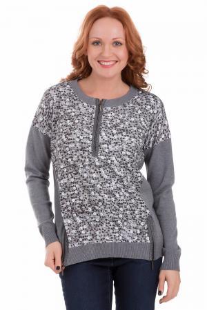 Пуловер Eugen Klein. Цвет: серый