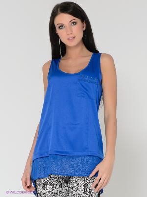 Топ Vero moda. Цвет: синий