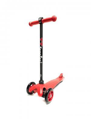 Самокат TT Mini scooter красный Tech Team. Цвет: красный