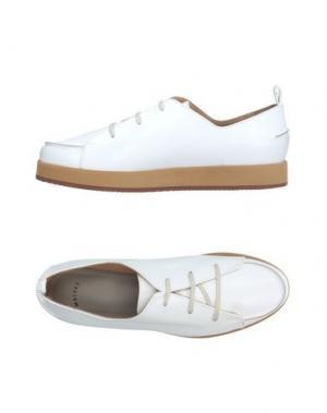 Обувь на шнурках MAIYET. Цвет: белый