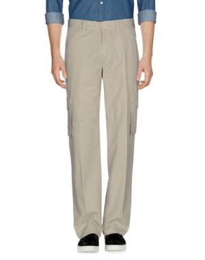 Повседневные брюки CANADIENS. Цвет: бежевый