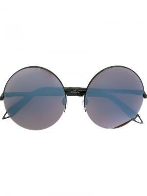 Солнцезащитные очки Supra Round Victoria Beckham. Цвет: чёрный