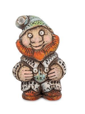 Фигурка Гном шамот Art East. Цвет: коричневый