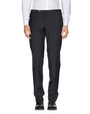Повседневные брюки G.T.A. MANIFATTURA PANTALONI. Цвет: стальной серый