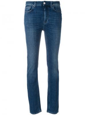Узкие джинсы Toteme. Цвет: синий