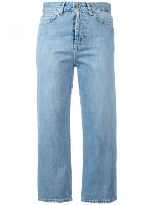 Укороченные джинсы Shocking Dondup. Цвет: синий