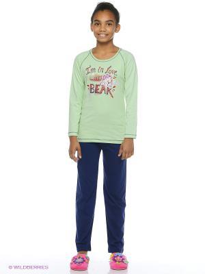 Комплект одежды Vienetta Secret. Цвет: салатовый