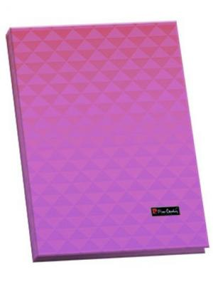 Папка-каталог 40 листов Geometrie Pink Pierre Cardin. Цвет: розовый