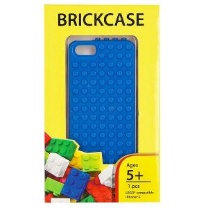 Чехол для iPhone 5  BrickPhone5 Blue Smallworks. Цвет: синий