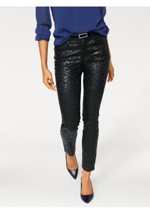 Моделирующие джинсы Ashley Brooke. Цвет: черный