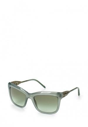 Очки солнцезащитные Burberry. Цвет: зеленый