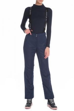 Горнолыжные брюки с карманами Stayer. Цвет: синий