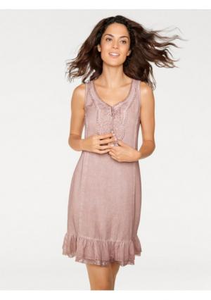 Платье Linea Tesini. Цвет: цвет розового дерева