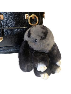 Кролик-брелок GOOD MOOD коллекция: LUX. Цвет: серый