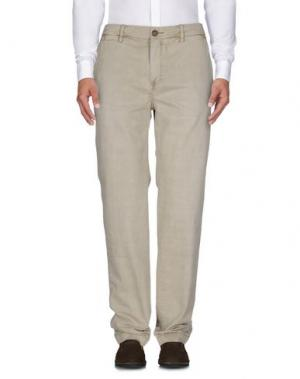 Повседневные брюки RED SOUL. Цвет: песочный